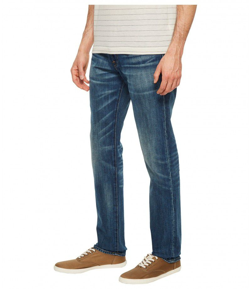 7 For All Mankind Adrien Easy Slim Worn From Raw in Legend