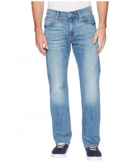 7 For All Mankind Austyn Relaxed Straight Leg Luxe Performance in Valhalla