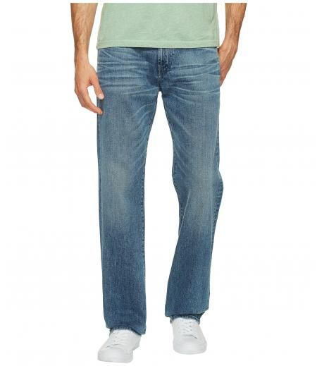 7 For All Mankind Austyn Relaxed Straight in Bastille Sun