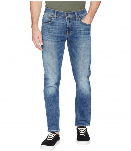 7 For All Mankind The Straight Tapered Straight Leg Luxe Performance in Gaston