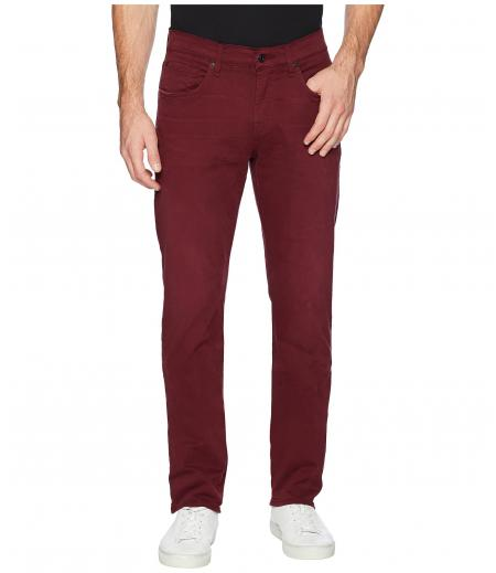 7 For All Mankind The Straight Tapered Straight Leg in Blood Rose