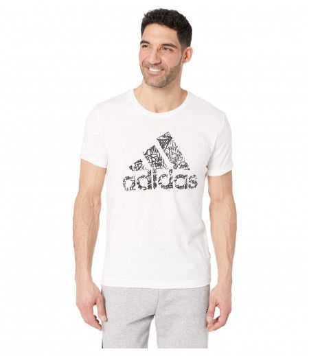 adidas Badge Of Sport Filled Graphic Tee