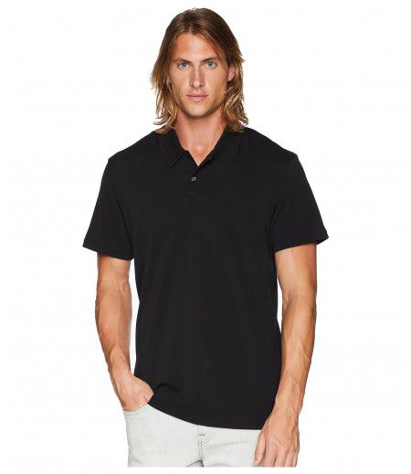 7 For All Mankind Short Sleeve Pique Polo