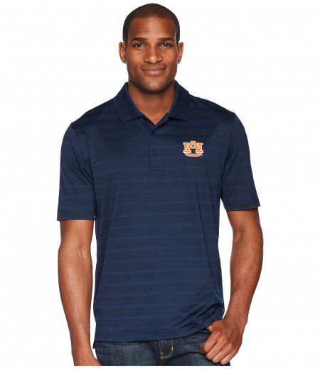 Champion College Auburn Tigers Textured Solid Polo