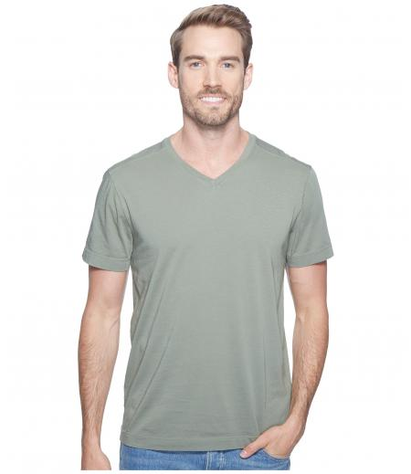Agave Denim Agave Supima Vee Neck Short Sleeve Tee