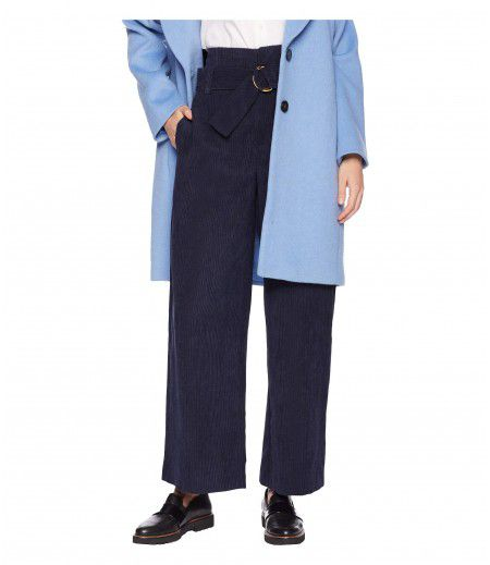 1.STATE High-Waisted Wide Leg Corduroy Pants
