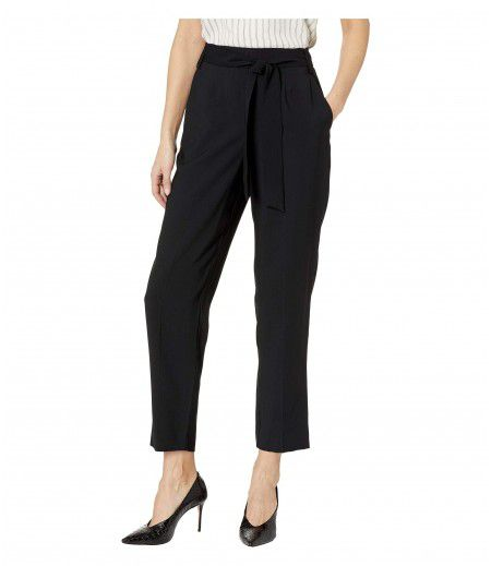 1.STATE Tie Waist Tapered Leg Pants