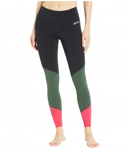 2XU Fitness Mid-Rise Compression Tights