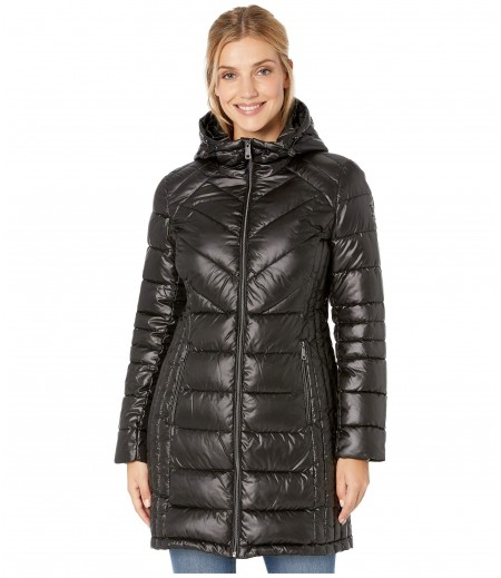 Kenneth Cole New York Zip Front Quilted Packable