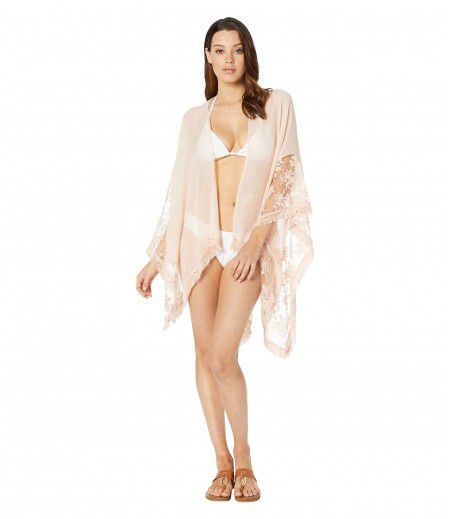 Collection XIIX Lace Border Cover-Up