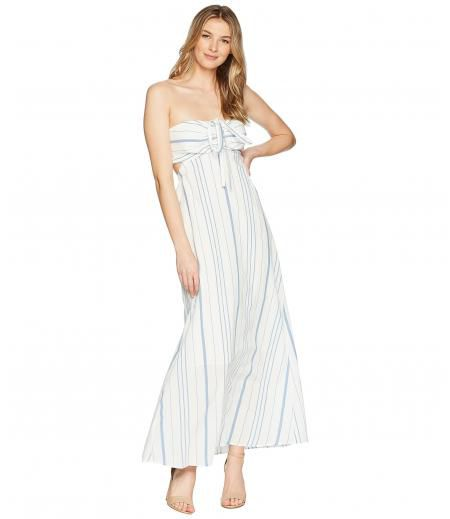 1.STATE Cinched Bodice Maxi Dress